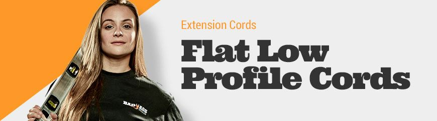 Flat Extension Cords