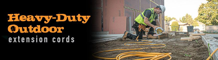 Heavy-Duty Outdoor Extension Cords for any job