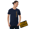 Picture of Bad Ass At Work T-Shirt - Large Navy