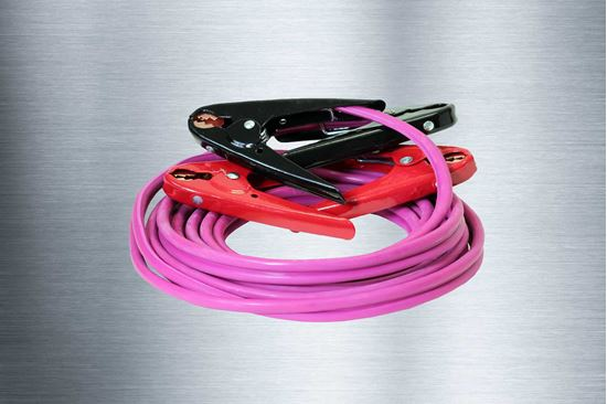 Picture of 16 Foot 6GA Battery Booster Cables