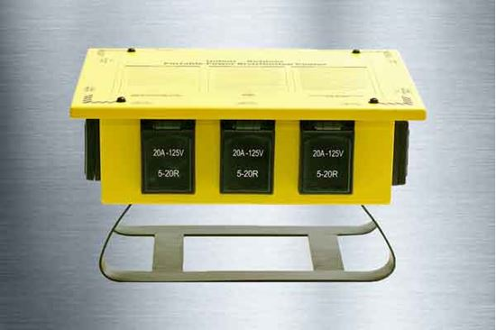 Picture of 50A Single Phase Power Distribution Spider Box