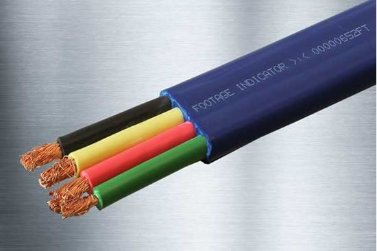 Picture of 1,000 Foot 10/3 + Ground Submersible Pump Cable