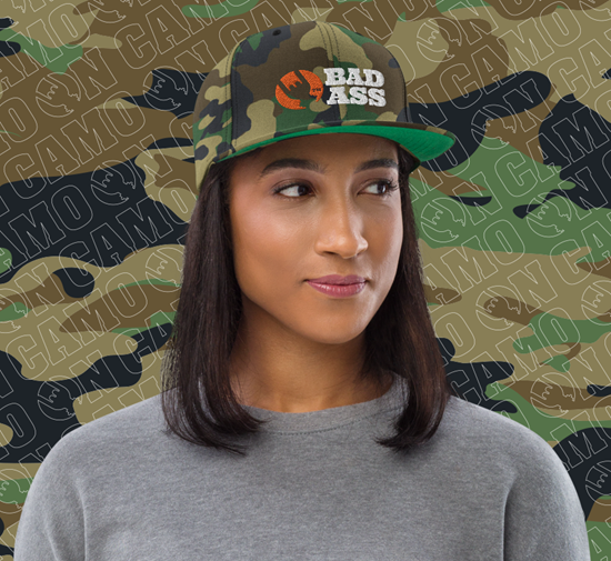 Picture of Bad Ass Icon Hat - Camo