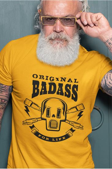 Picture of Bad Ass 4 Life T-Shirt