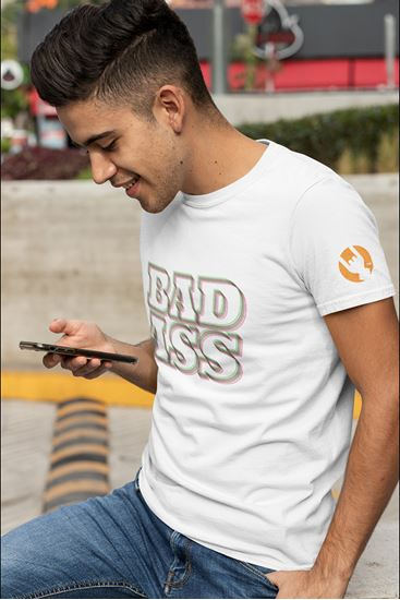 Picture of Bad Ass Blur T-Shirt