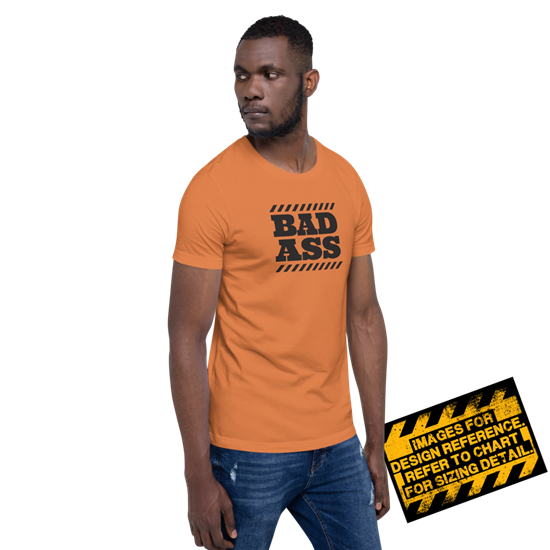 Picture of Bad Ass Zone T-Shirt - Large Burnt Orange