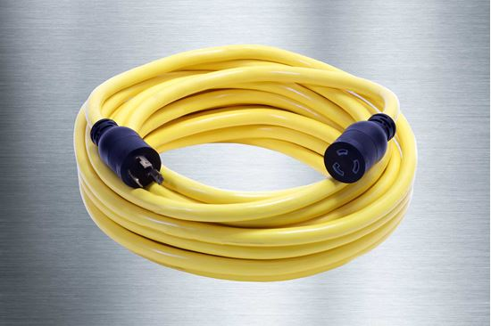 Picture of 100 Foot 10/3 SJTW Twist-to-Lock Extension Cord