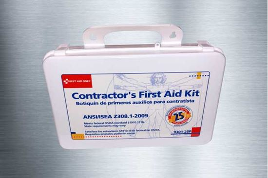 Picture of 25 Person Contactor's First Aid Kit