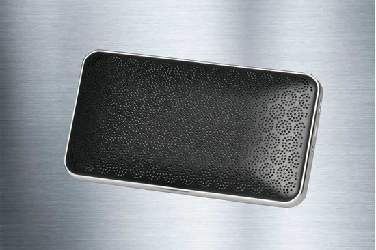 Picture of Hi-Def Portable Bluetooth Speaker Gray - Free