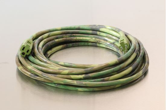 Picture of 50 Foot 12/3 SJTW Camouflage Extension Cord