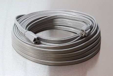 Picture of 100 Foot 12/3 SPT-3  Low Profile Extension Cord