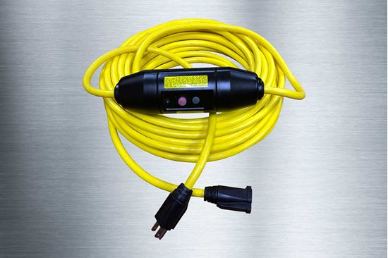 Picture of 25 Foot 12/3 SJTW In-Line GFCI Extension Cord