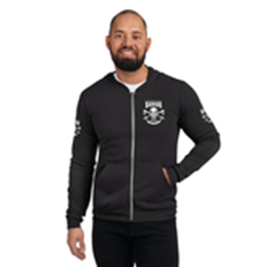 Picture of Unisex Zip Hoodie small