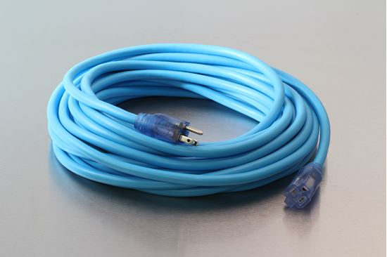 Picture of 100 Foot 10/3 SJEOW Cold Weather Lighted Extension Cord