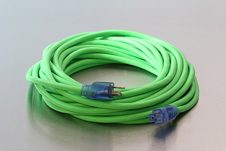 Picture of 50 Foot 12/3 SJEOW Bad Ass  Cold Weather Lighted Extension Cord