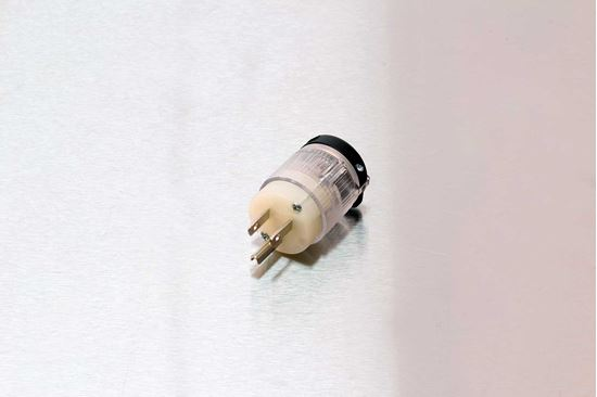 Picture of Century 15A-125V Straight Blade Lighted Plug NEMA 5-15P