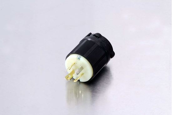Picture of Century 20A-125/250V Twistlock Plug NEMA L14-20P