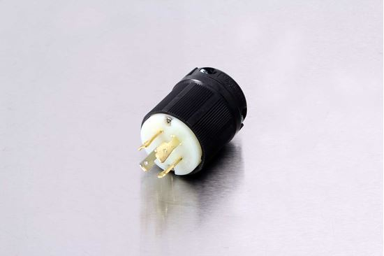 Picture of Century 30A-125/250V Twistlock Plug NEMA L14-30P
