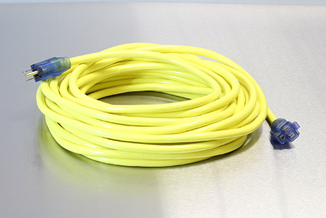 Picture of 25 Foot 10/3 SJTW Industrial Grade Lighted Extension Cord