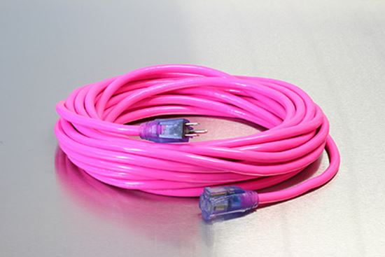 Picture of 15 Foot 14/3 SJTW Industrial Grade Lighted Extension Cord