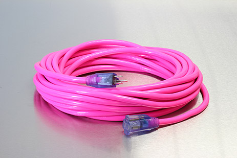 Picture of 50 Foot 14/3 SJTW Industrial Grade Lighted Extension Cord