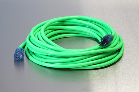 Picture of 100 Foot 14/3 SJTW Industrial Grade Lighted Extension Cord