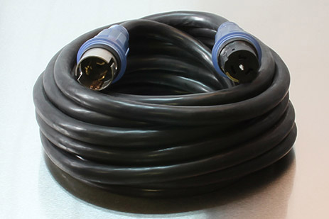 Picture of 50 Foot 6/3-8/1 STW 50A 125/250V Spider Box Cord